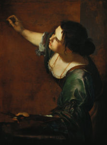 Artemisia Gentileschi, Self-Portrait as the Allegory of Painting, 1638-39, oil on canvas, 96.5 cm × 73.7 cm, Royal Collection