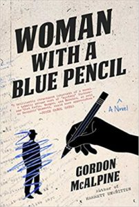 Woman with a Blue Pencil Gordon McAlpine