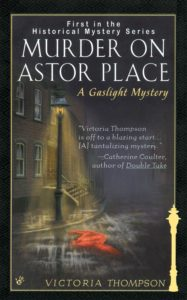 Murder on Astor Place, by Victoria Thompson
